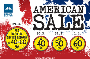 American SALE ve Špindlu