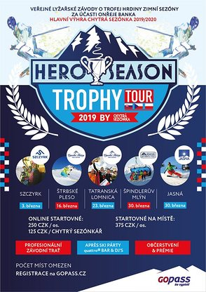 Hero Season Trophy Tour 2019 ve Špindlu